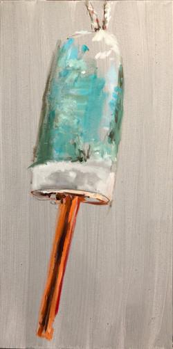 Buoy, oil on canvas 24_ x 12_, $295