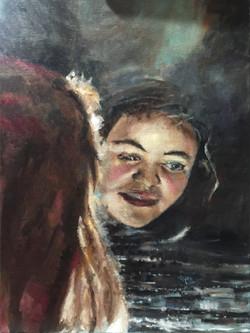 Homeland, 24x18, oil on canvas $500