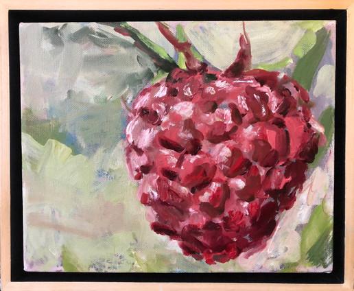 Raspberry Study 8x10, $195