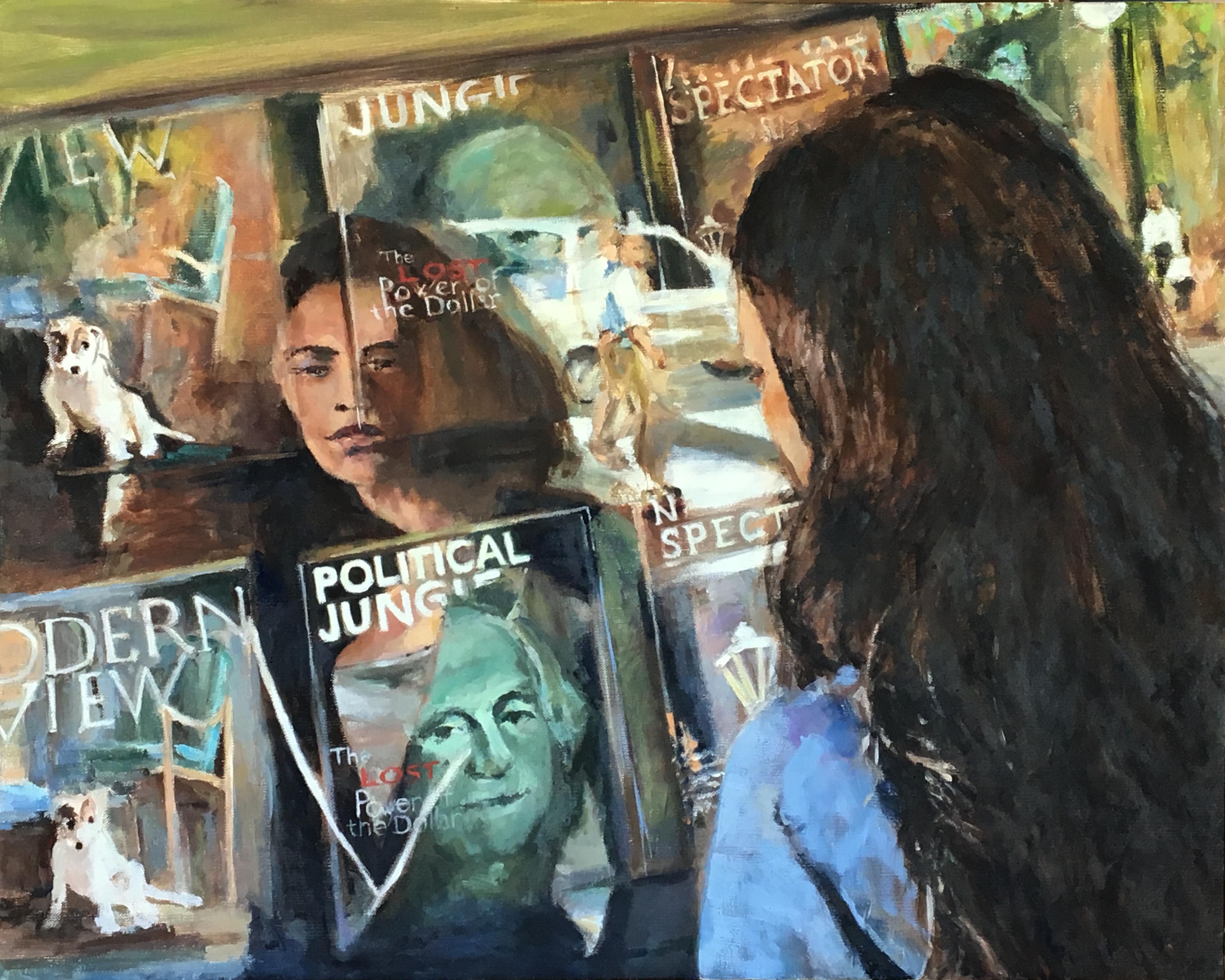 Political Jungle, oil on canvas, 24x30$2400