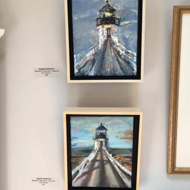 Marshall Pt. Lighthouse, Foggy Day & Sunny Day