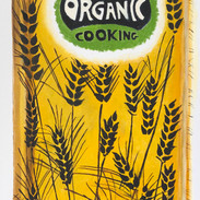 "Organic Cookbook, oil on canvas, 24""x12,"