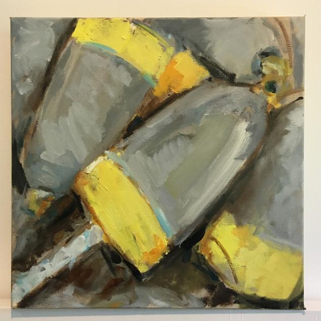 Yard Buoys, Yellow and Grey, $250
