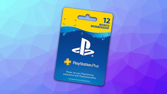 PlayStation Plus - Suscripción de 1 año