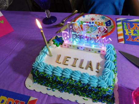 Happy Birthday Leila!