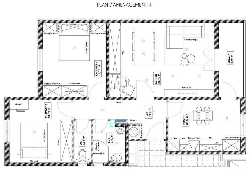 Appartement design projets d 39 int rieur for Design d interieur a distance