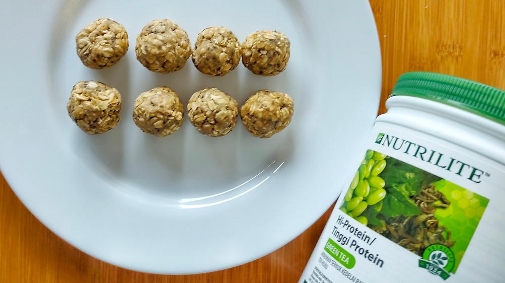 Bikin oat balls gurih asin yang sehat