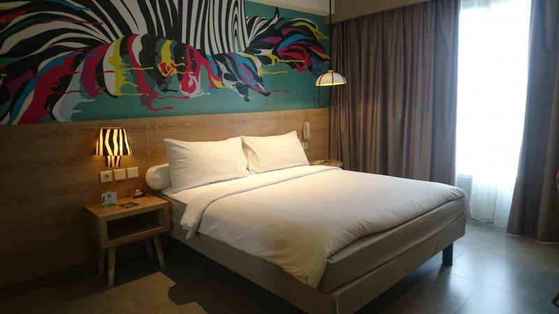 Kamar di Ibis Styles Bogor