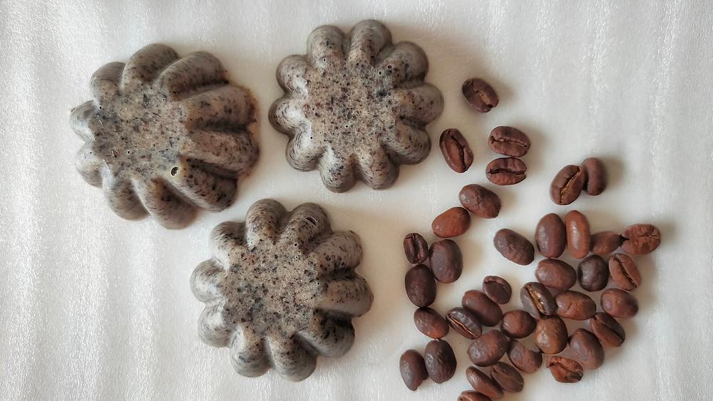 Homemade Coffee Scrub Bar