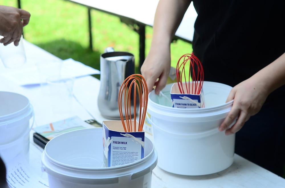 recycling bahan bekas untuk wadah membuat sabun