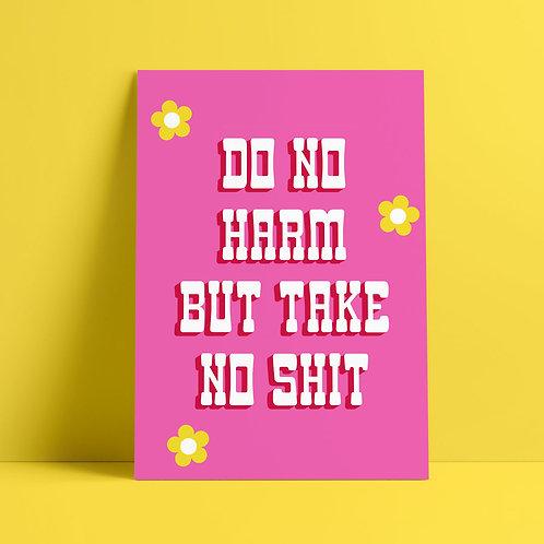 Do No Harm Print