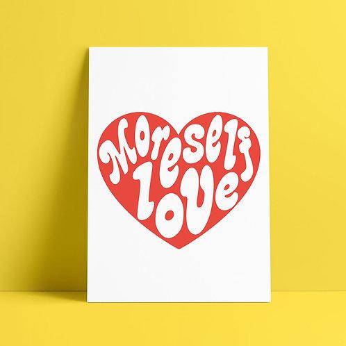 Self Love Heart Print