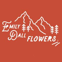 Emily Dall Flowers Logo Design
