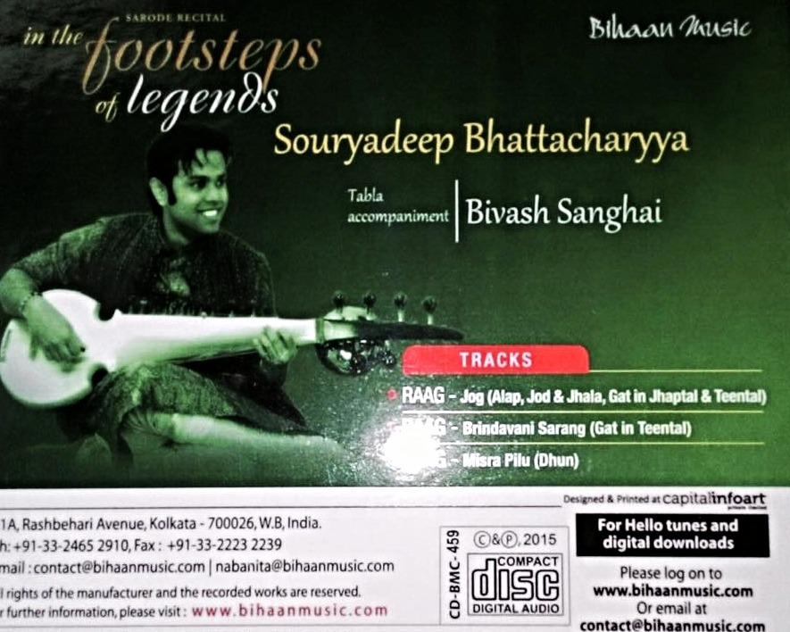 CD release : Bihaan Music