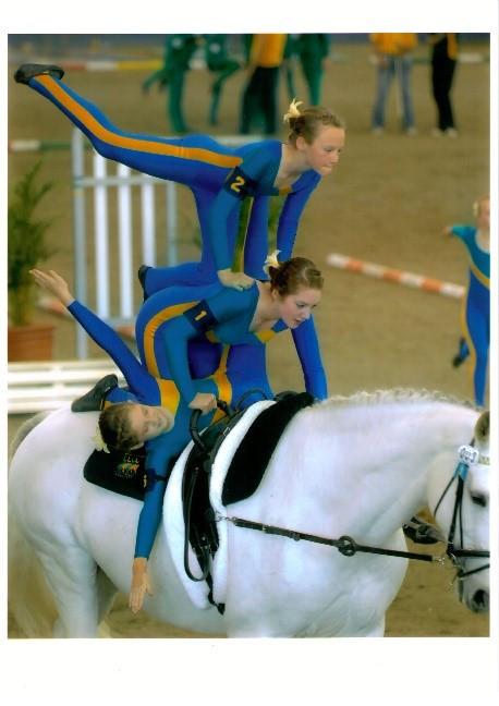 Equestrian Vaulting Teamwork