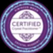 Hibiscus Moon Crystal Academy CCP badge.