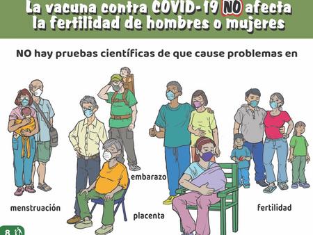Mitos sobre la vacuna COVID-19