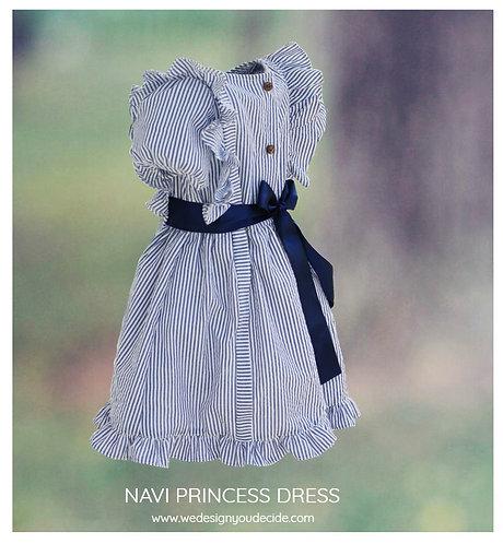 Navy Princess Dress