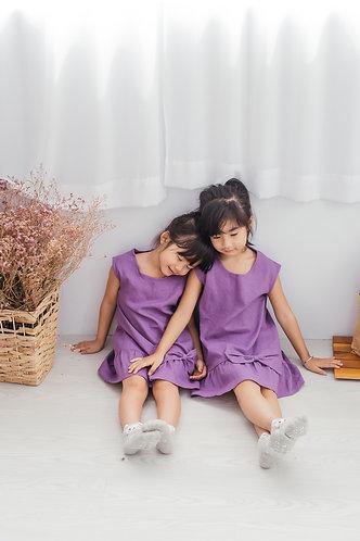 Violet Bow Dress