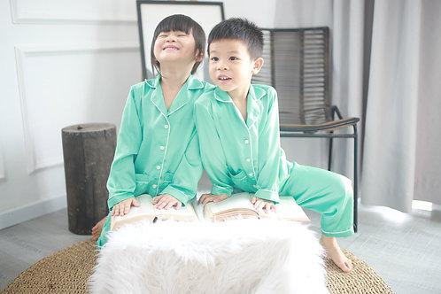 Pyjama Xanh Mint