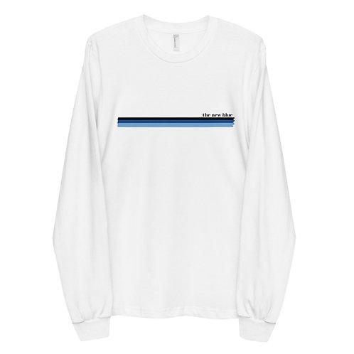 New Blue Stripe (Unisex) Long Sleeve