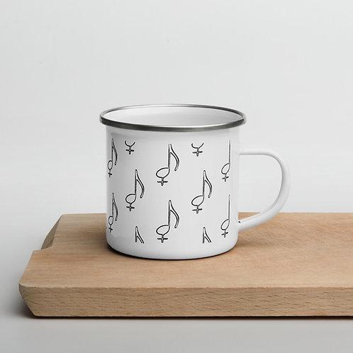 Bloi Note Enamel Mug
