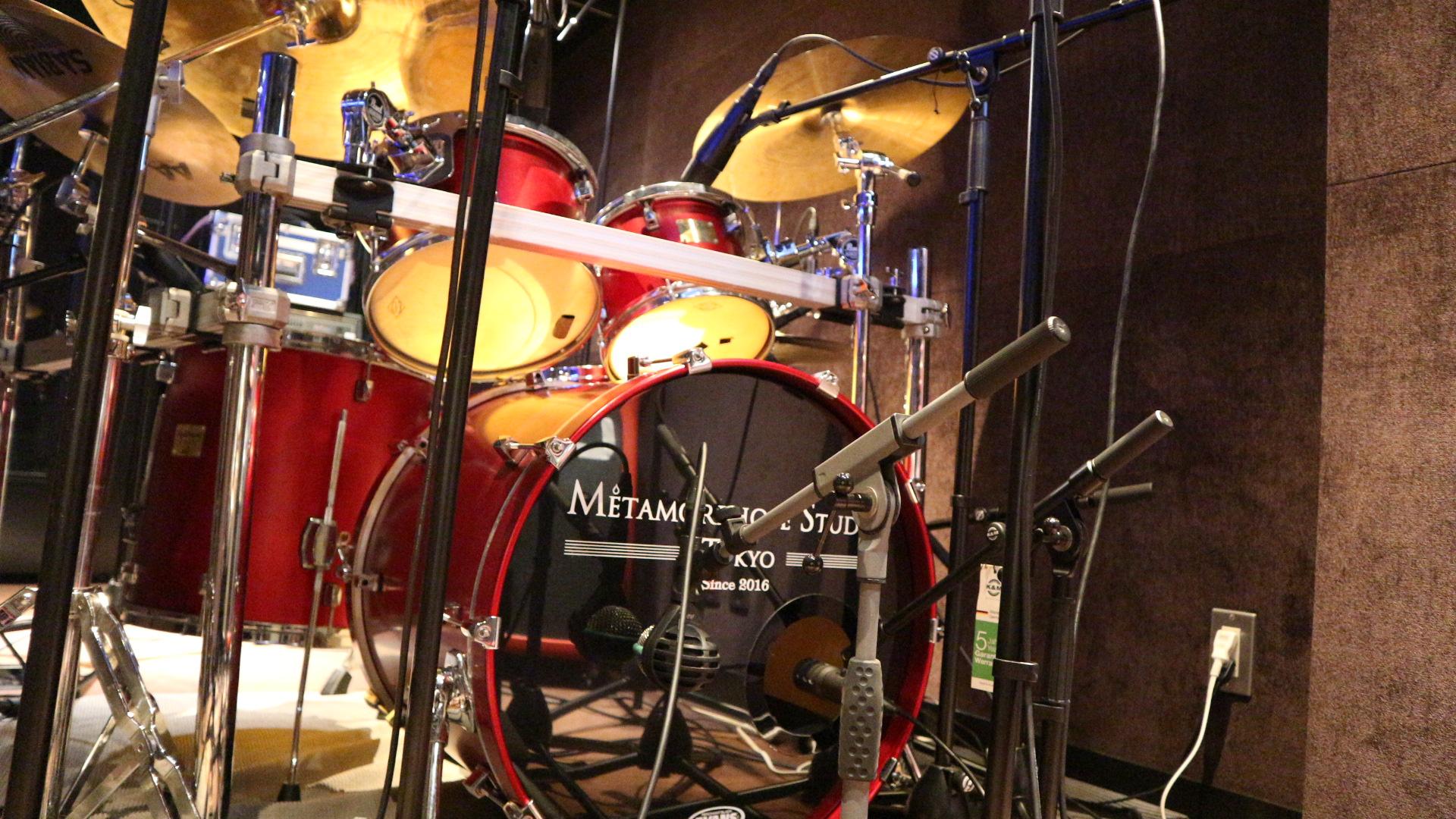 ドラムレコーディング