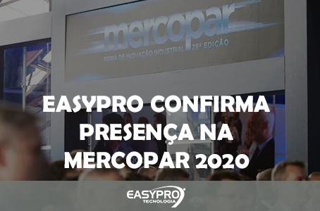 EasyPro Confirma Presença na Mercopar 2020