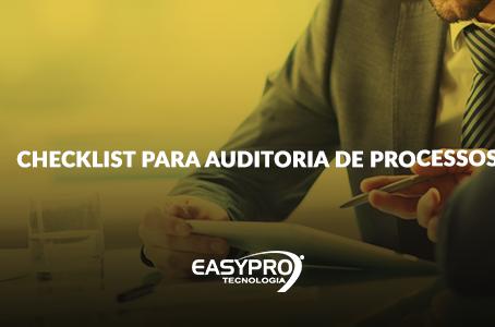Checklist para Auditoria de Processos