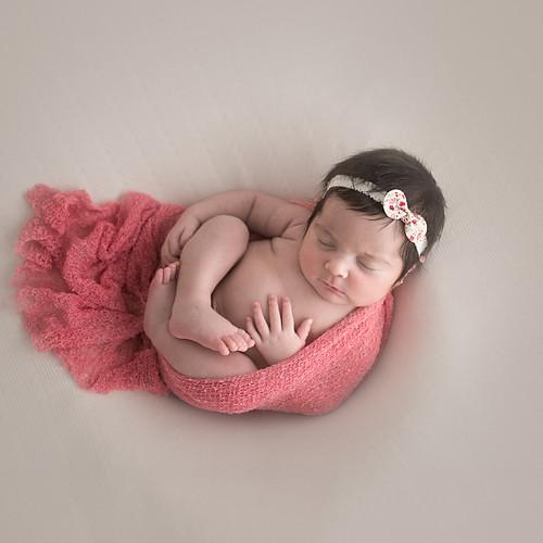 Newborn Livia - 18 dias