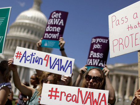 The Violence Against Women Act Still Isn't Reauthorized