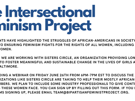 Friday June 26th, 2020: The Intersectional Feminism Project