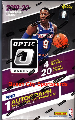 2019/20 Panini Donruss Optic Basketball Hobby Box
