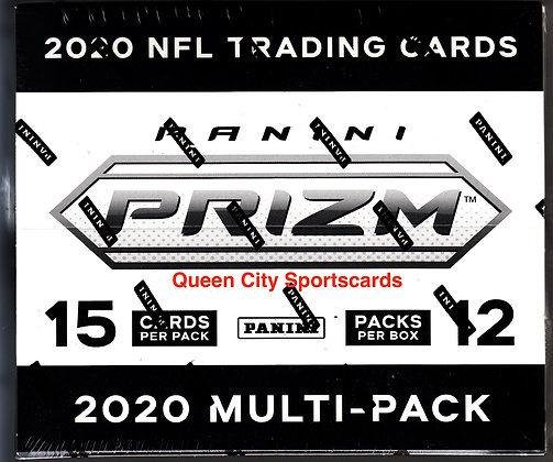 2020 Panini Prizm Football Multi-Pack Box