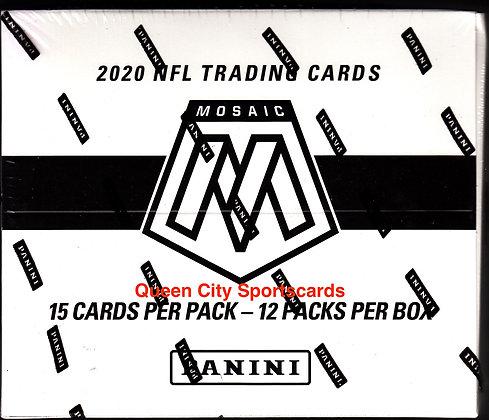 2020 Panini Mosaic Football Multi-Pack Box