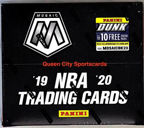 2019/20 Panini Mosaic Basketball Fast Break Box