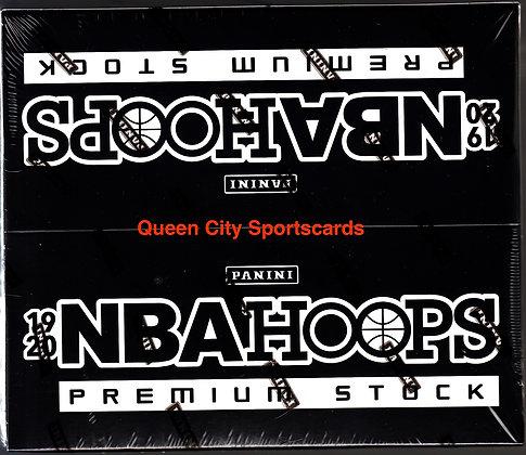 2019/20 Panini NBA Hoops Premium Stock Basketball Multi-Pack Box