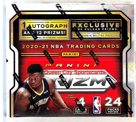 2020/21 Panini Prizm Basketball Retail Box