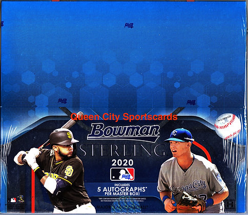 2020 Bowman Sterling Baseball Hobby Box