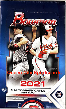 2021 Bowman Baseball Jumbo HTA Box