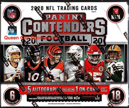 2020 Panini Contenders Football Hobby Box