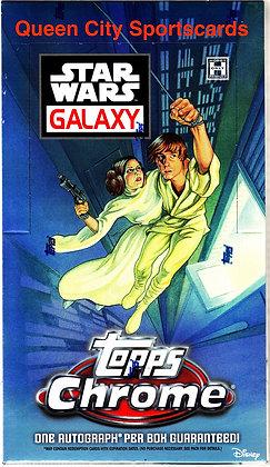 2021 Topps Star Wars Chrome Galaxy Hobby Box