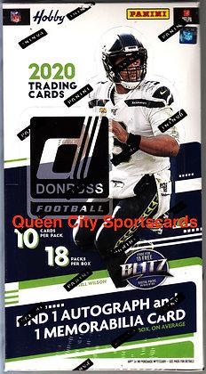 2020 Panini Donruss Football Hobby Box