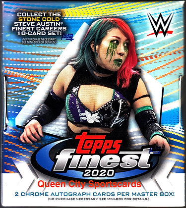 2020 Topps WWE Finest Wrestling Hobby Box