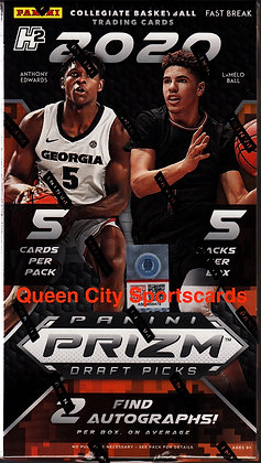 2020/21 Panini Prizm Collegiate Draft Picks Basketball Fast Break Box