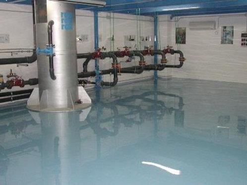 EPOX HCR 300 Kg 12,5 (A+B) Nero - Rivestimento ad alta resistenza chimica