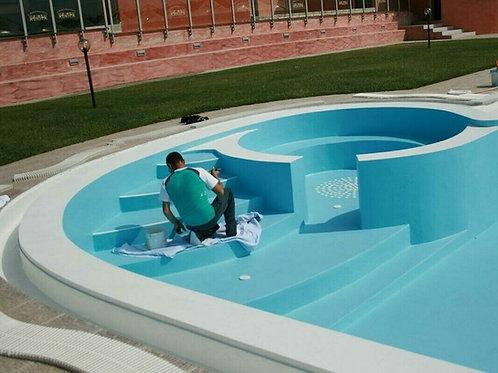 POLISTAR E Kg 20 (A+B) Smalto poliuretanico per piscine