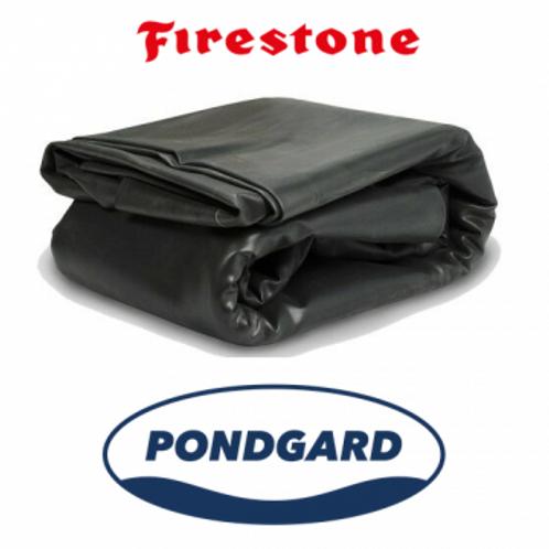 "TELO EPDM ""Firestone PondGard"" Per piscine naturali m. 6,10x4x1,0 mm."