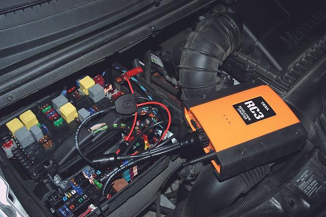 RC3 прибор для снятия оборотов и температуры двигателя