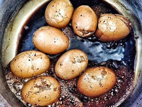 Les Œufs au thé noir & aux épices (Tea egg)
